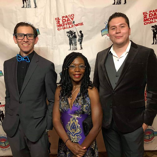 Meet the producers of @summerset_picturesofficial and Luna Soleil Studios! . . . #48hourfilmchallenge  #ep2daymovie #thriller #EP2dayfilmcrew #indiefilm #48hourfilmproject #supportindiefilm #filmmaker #oneshot #finaltake #shortfilm #location #setlife #producer #sonya7ii #filmcrew #family #bonding #collaboration #indiefilm #filmmakersofinstagram #goodslate #elpaso #director #cinematographer #filmlife #filmisnotdead