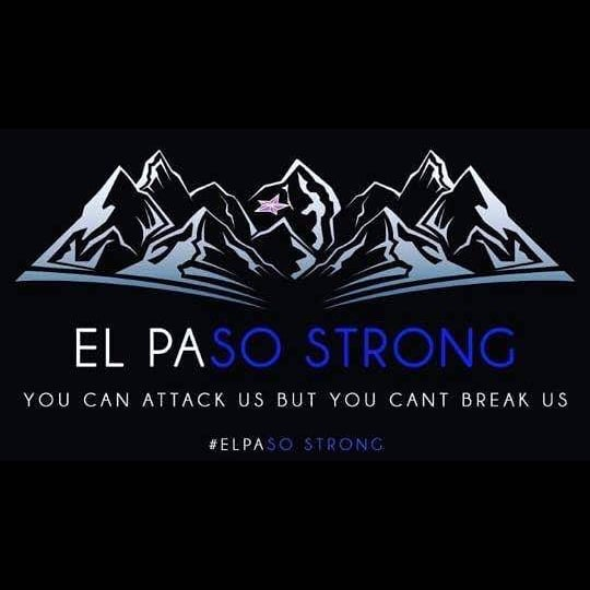We are El Paso. What happened today will not define us.  We will continue to love our neighbors and friends like family today, and every day.  We will continue to rise above hate every day.  Our city is mourning but its people are strong and we will not let hate win.  Not today.  Our thoughts and prayers will be with the victims of this tragedy and their families always.  Every person in this city has been affected by this.  But we are stronger than the worst hate.  We are El Paso Strong.  #ElPaso #EPStrong #prayforelpaso #staystrong #chucostrong
