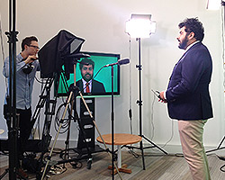 The Drill-simulation-TV-studio Crisis content