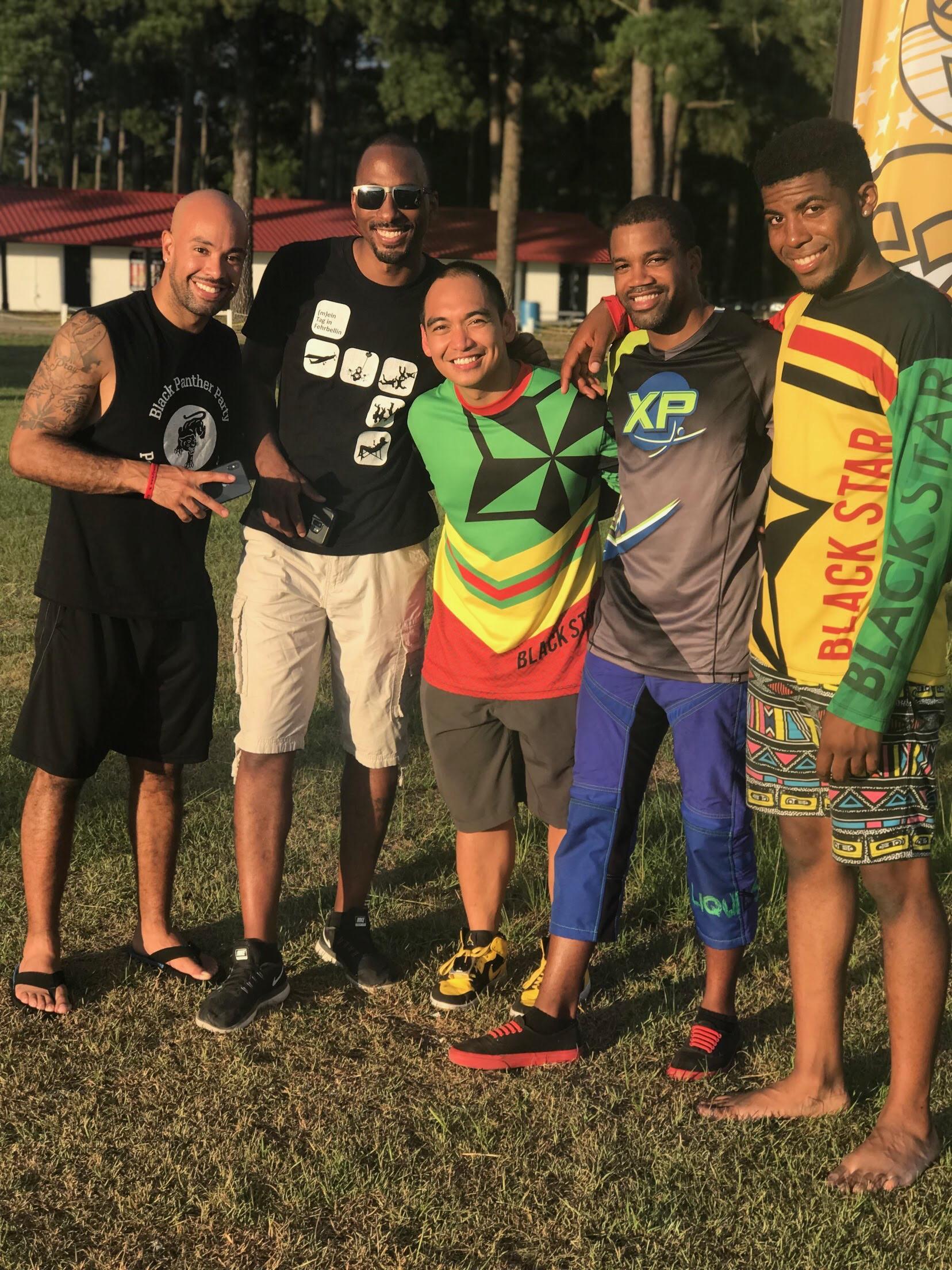 Group photo - TBS record jump - Matt Smith Nicholas Walker.JPG