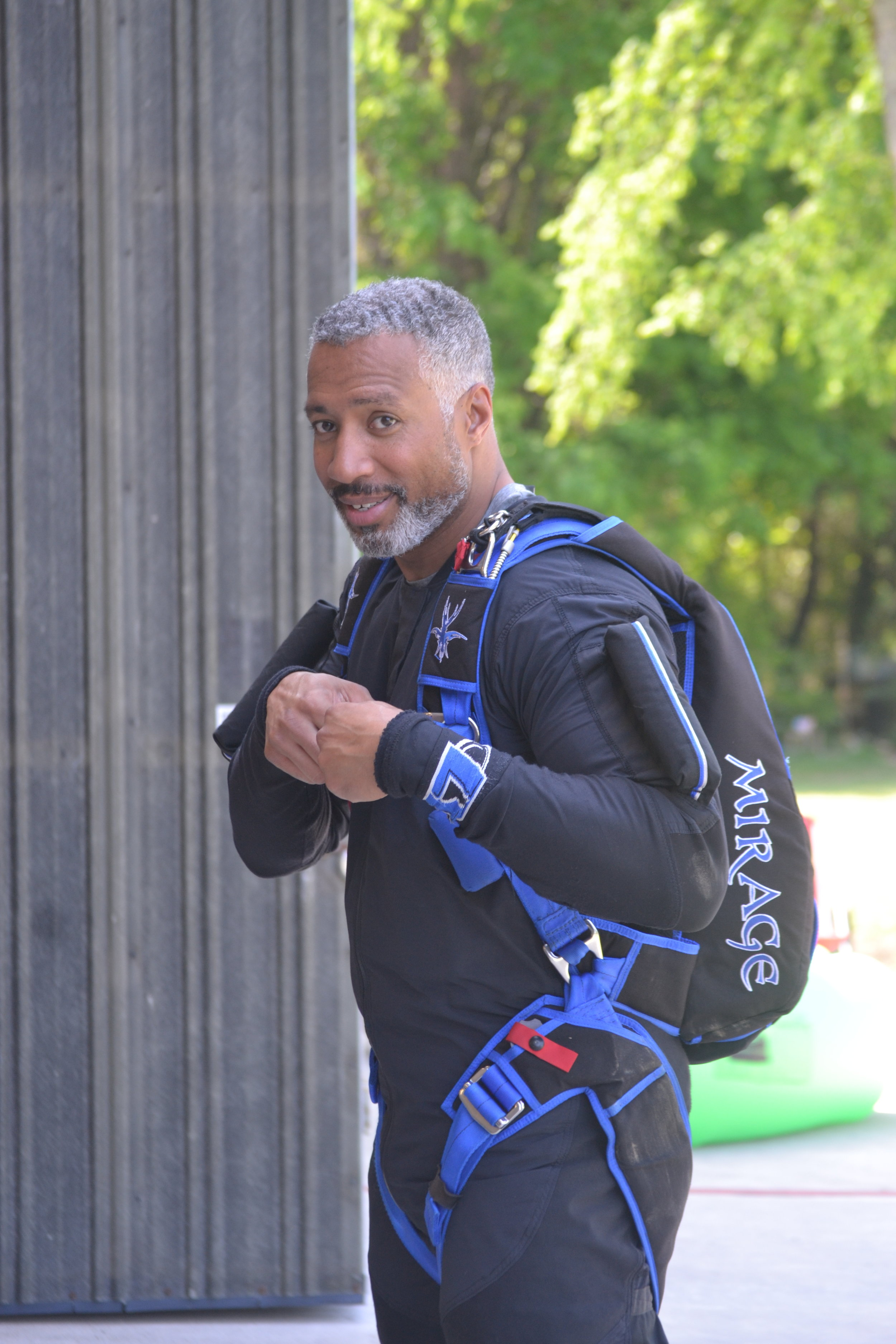 Sean Sylvester is a skydiving instructor at a drop-zone in Florida. He enjoys instructing students, traveling to RW camps and skydiving with his wife of 28 years.  Photo credit: Jackie Sylvester