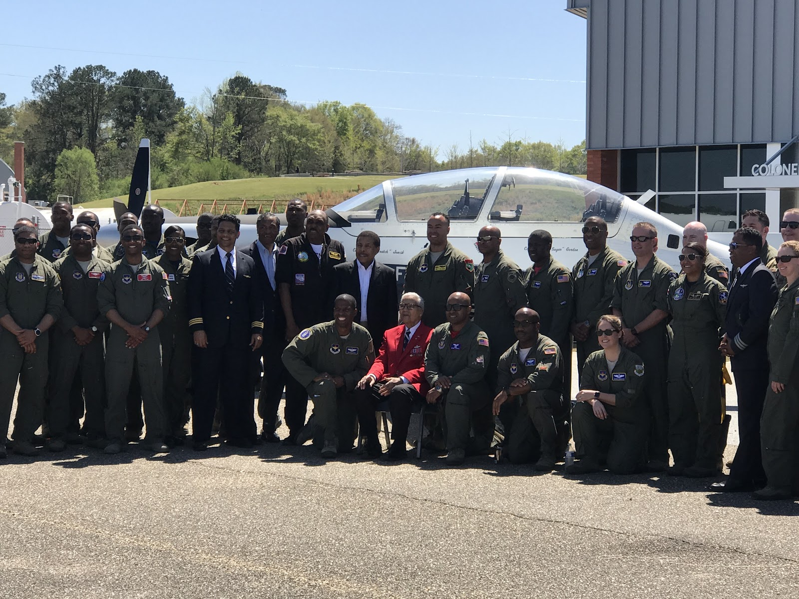 The March 2019 event in Tuskegee, AL doubled as a reunion for black military aviators.