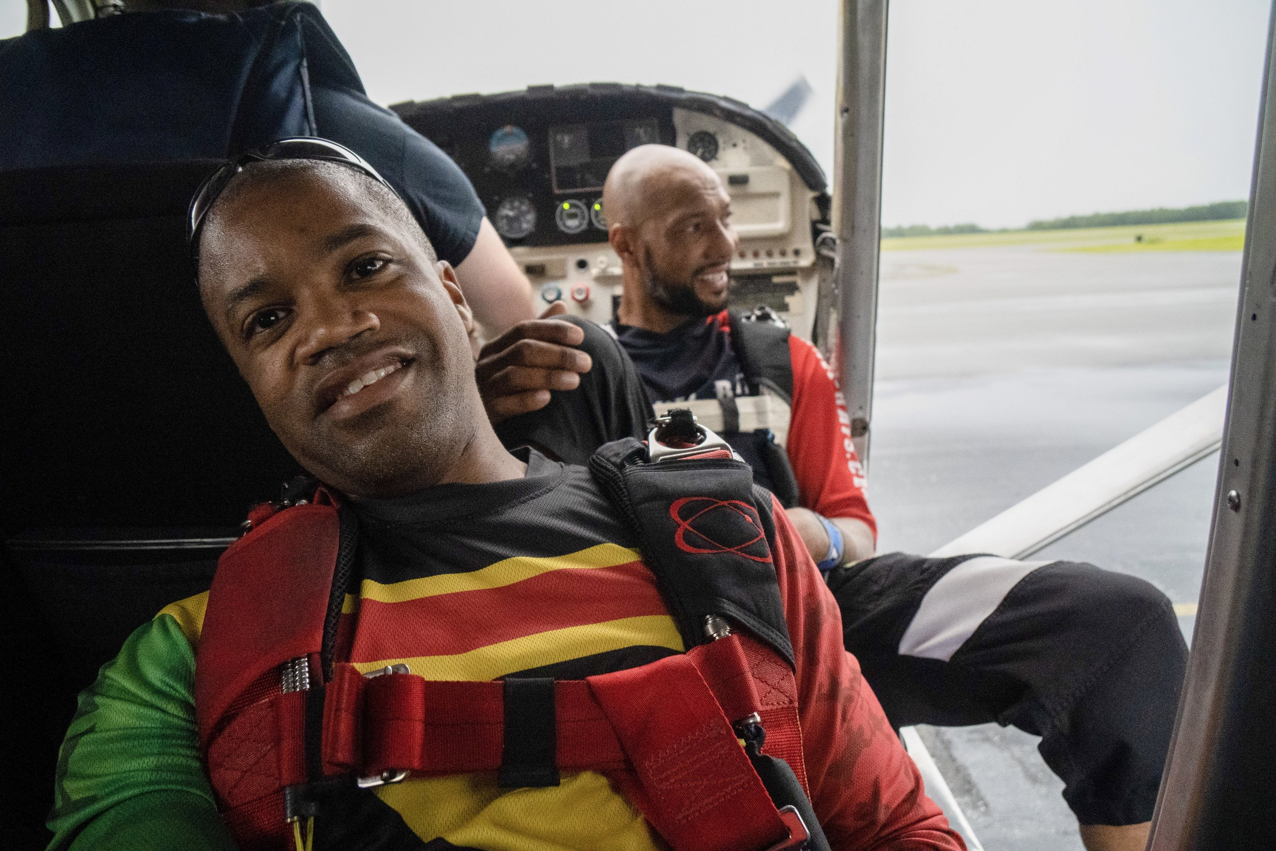 Nicholas Walker  started parachuting in 2002 while serving with 7th Special Forces Group and JSOC. He became a licensed civilian skydiver in 2008.