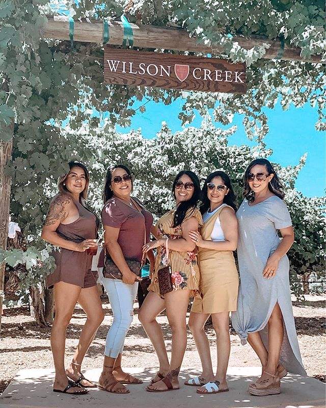 Yay! We've made it to the end of the week and I'm ready to have hubby's help with these boys 🤣 Here's some fun from last weekend at @wilson_creek_winery for our neighbor's birthday. http://liketk.it/2DHh1 @liketoknow.it #liketkit #friendsturnedfamily #wilsoncreekwinery #amazonfinds
