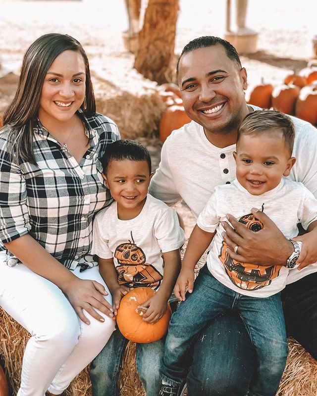 You can find us here all October long! Pumpkin patch and winery... could it get any better? 🎃 🍷 Love my little pumpkins more than the universe itself! Ps why is it so hard to get toddlers to look at the camera and smile? #liketkit #ltkfamily #boymama #falloutfits #pumpkinseason