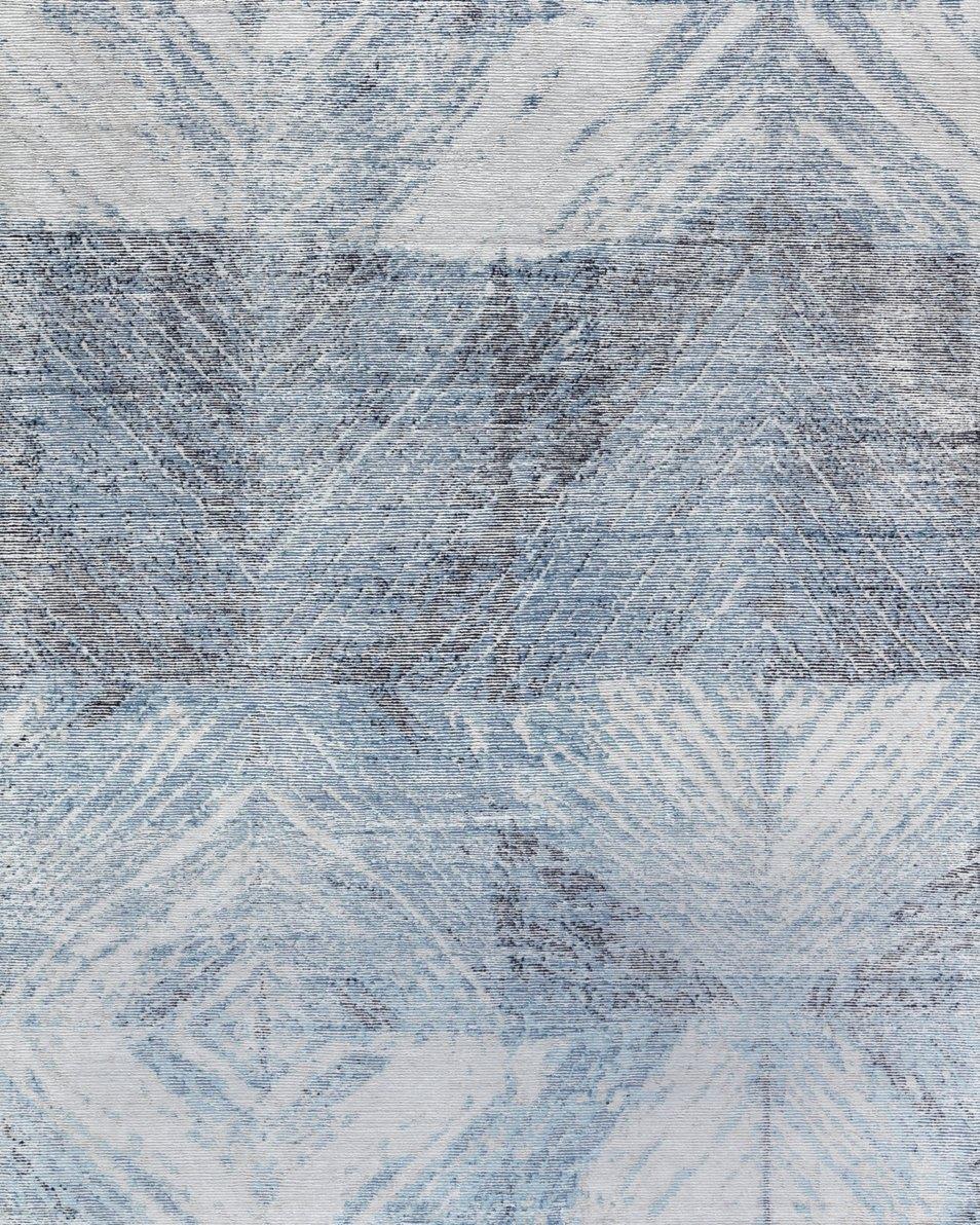Rhombus Grey Blue