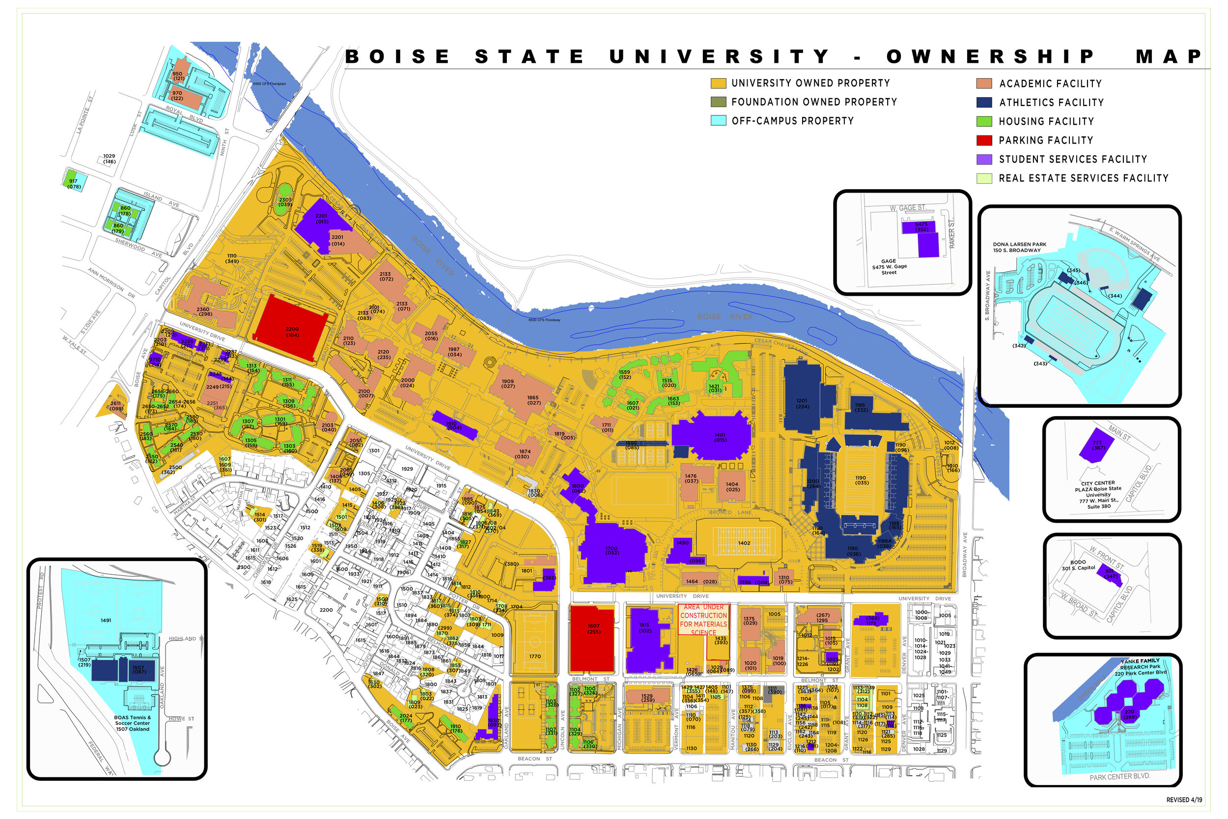 BSU Property Map (April 2019)