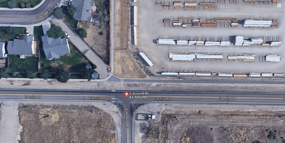 Safe Crossing Amity & Holcomb - Click Image To Make a Comment(map this instead)
