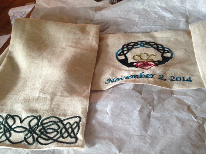 Linen and Claddagh