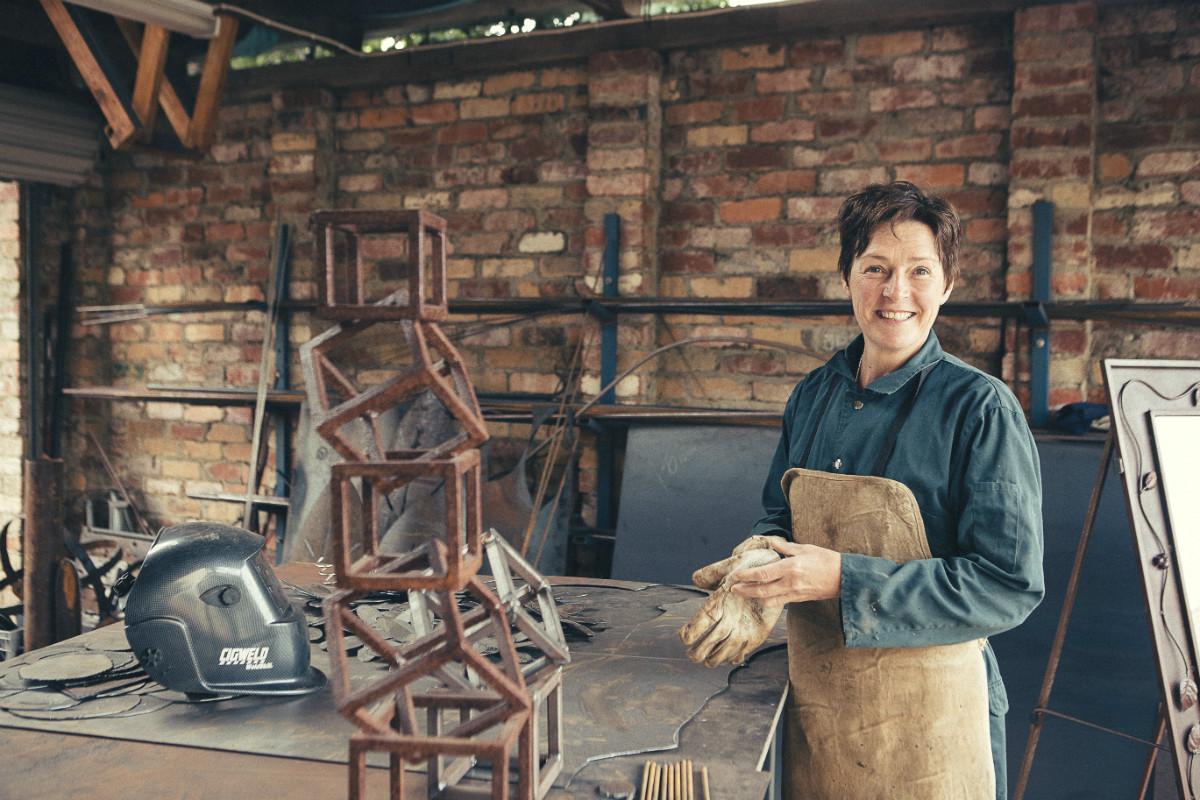 AboutMel Rayski-Mati - Metal Sculptor and artist
