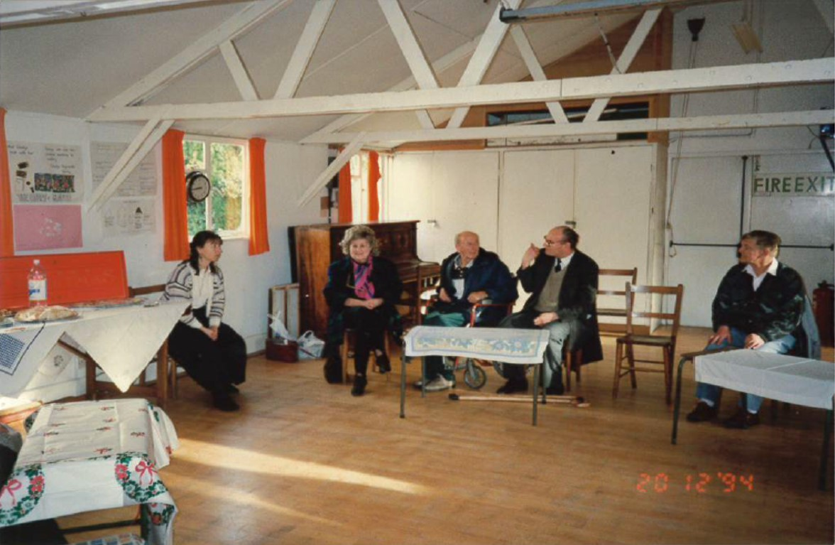 A group from Middlefield at the Knowle URC in 1994