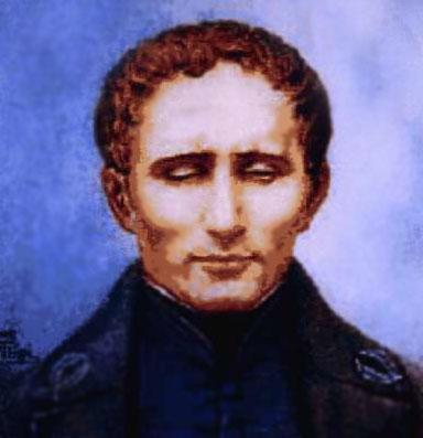 Louis Braille (1809 - 1852)