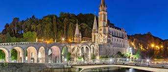 Lourdes (Shuttle Direct:  https://www.shuttledirect.com/blog/guide-sacred-sites-lourdes/ )