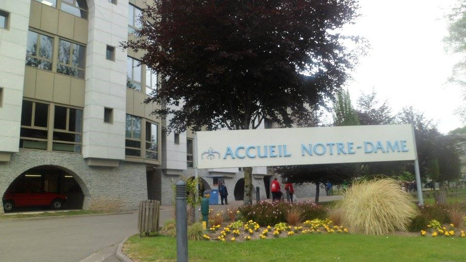 The Accueil Notre-Dame, the hospital where I stayed