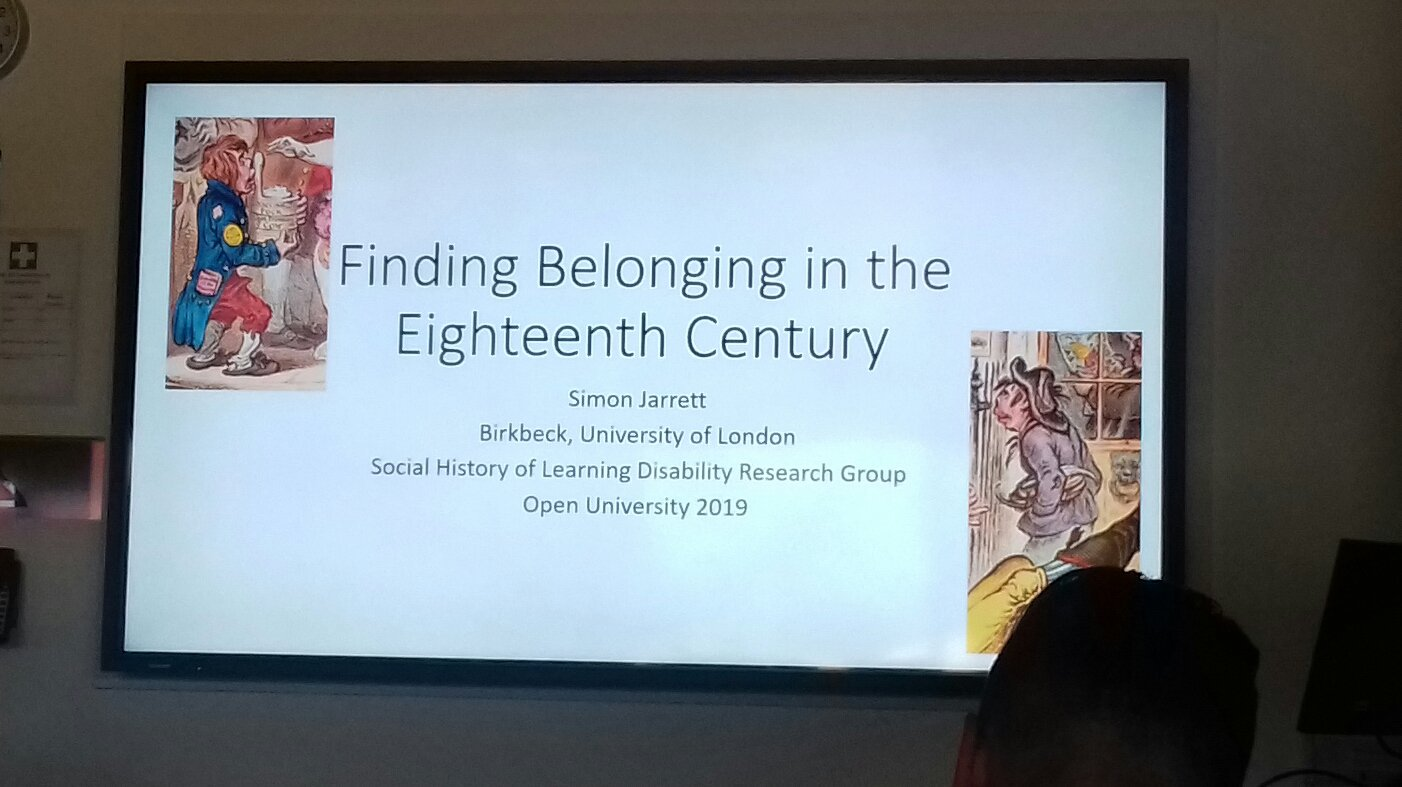 Dr Simon Jarrett's presentation