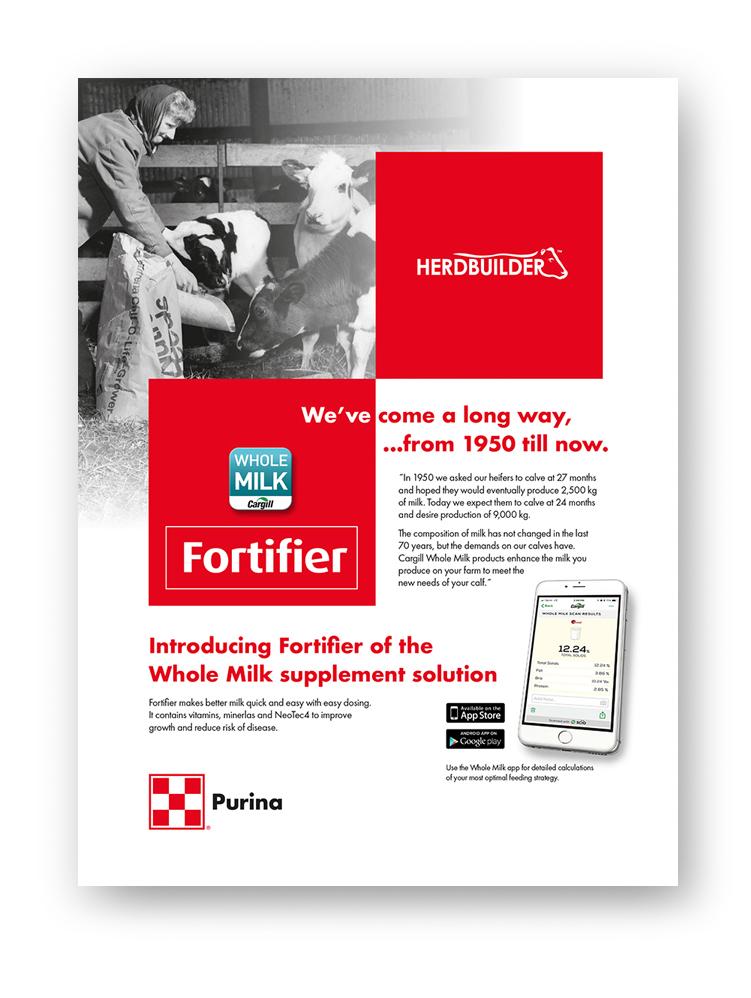 PURINA - PRODUCT MARKETING• productbrochures & adverts• zakontwerpen