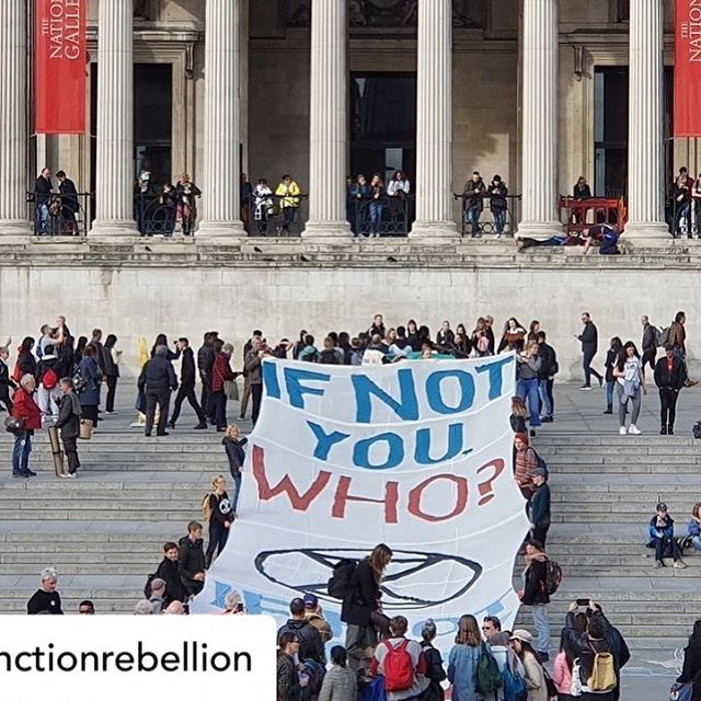 Please join the extinction rebellion wherever you are in the world .. it's for us all ... #XR #rebelforlife #wearethealarm #extinctionrebellion @extinctionrebellion 💛🌲🌍🌸🍄🍁🌱