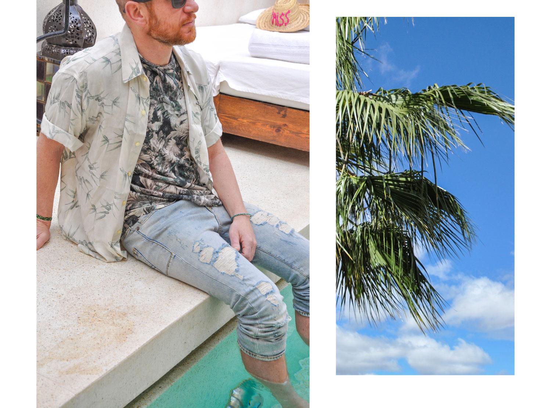 Hemd : Etro, T-Shirt: Etro, Jeans: Saint Laurent