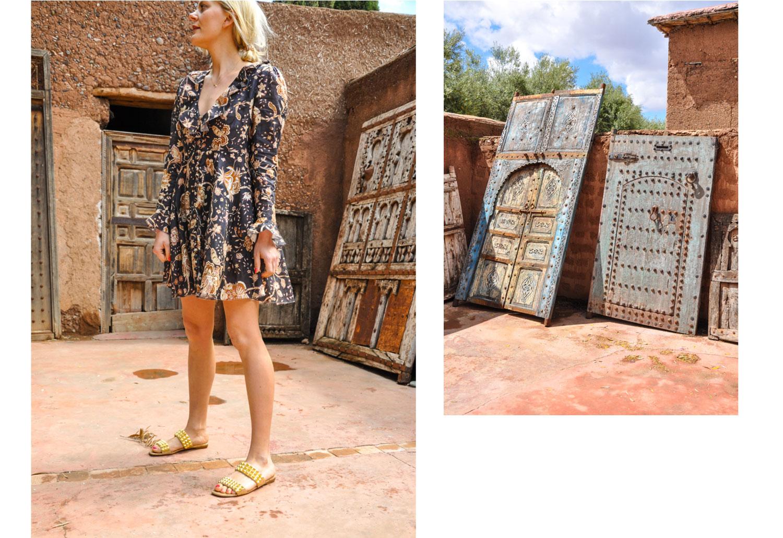Kleid: Ulla Johnson, Schuhe: Christian Louboutin