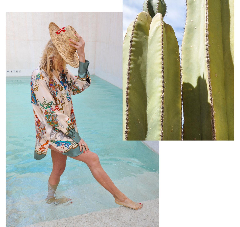 Kleid: Philosophy di Lorenzo Serafini, Hut: Shake Fashion Mix