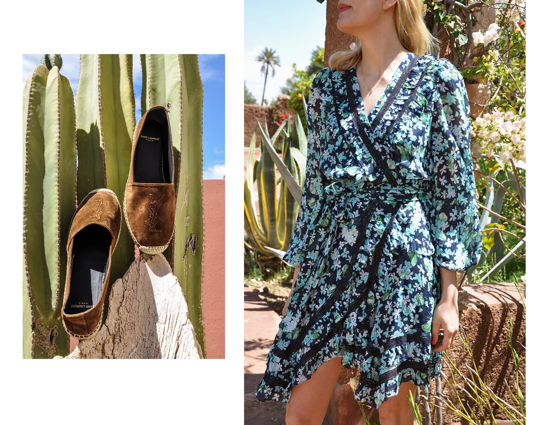 Schuhe: Saint Laurent, Kleid: Ulla Johnson