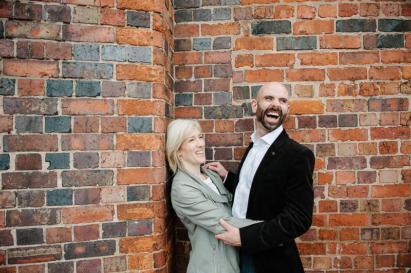 Their Engagement Photos - around Birmingham