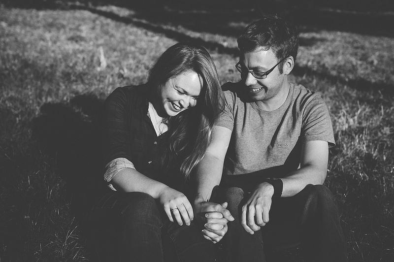 Their Engagement Photos - at Edgbaston Reservoir