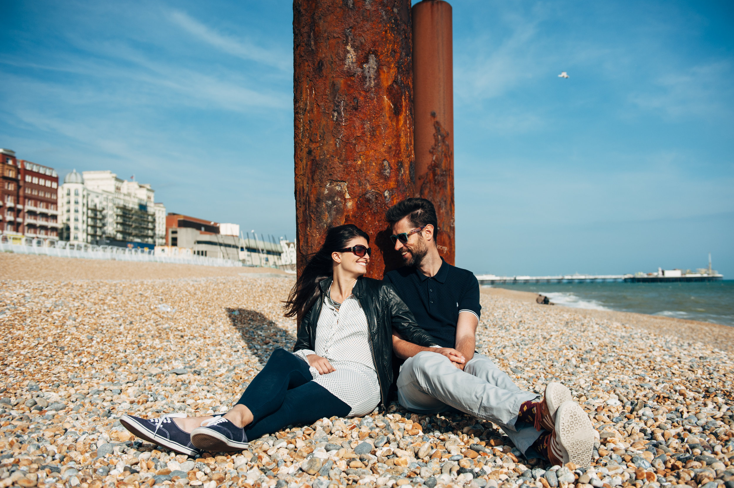 Their Engagement Photos - in Brighton