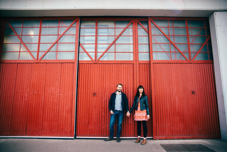 Their Engagement Photos -