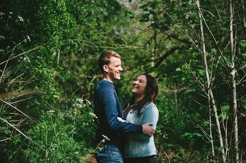 Their Engagement Photos - at Plantsbrook Nature Reserve