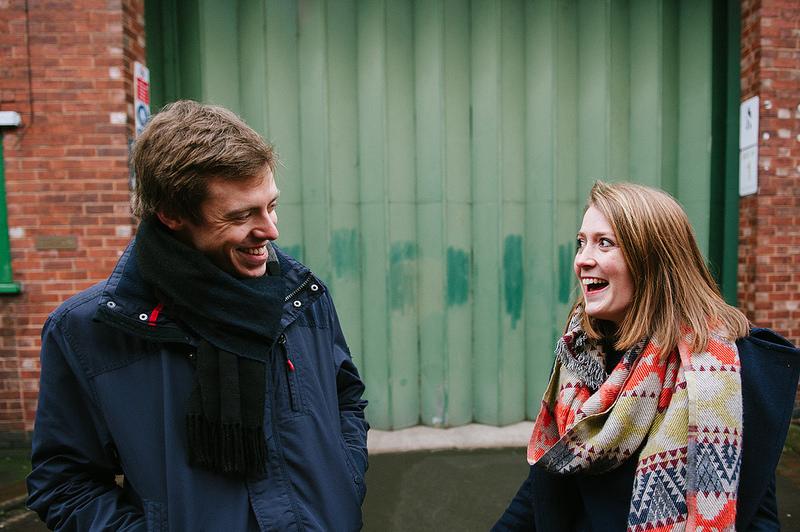 Their Engagement Photos - around Sheffield