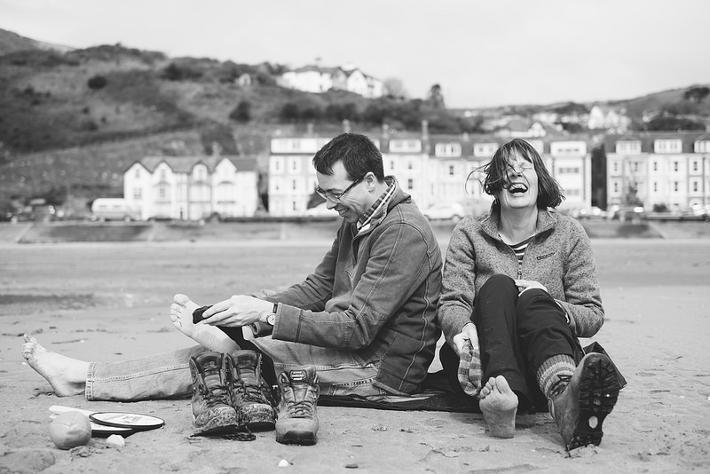 Their Engagement Photos - in Aberdovey