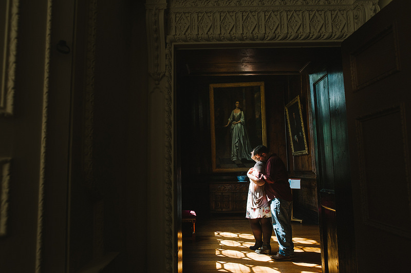 Their Engagement Photos - at Aston Hall