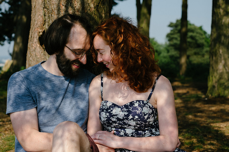 Their Engagement Photos - in Sutton Park
