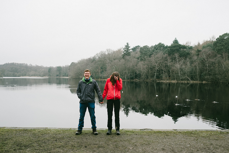 Their Engagement Photos - in Sutton Park