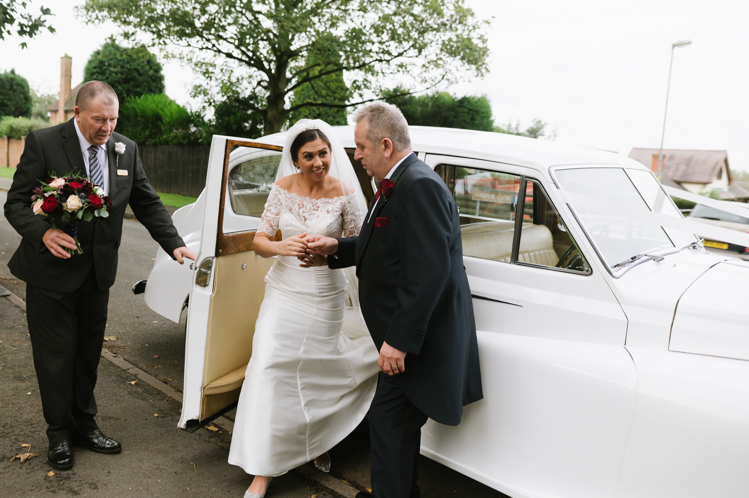 Pendrell Hall relaxed candid wedding photographer