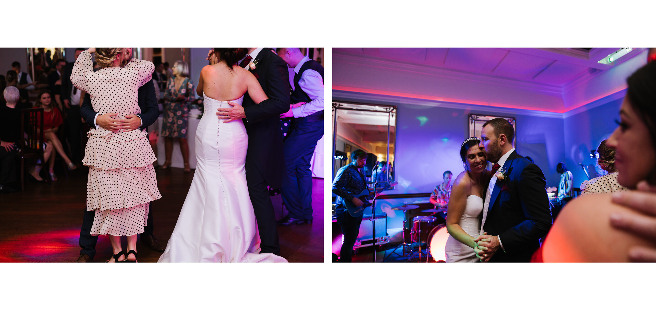 Pendrell Hall Staffordshire relaxed candid wedding photographer