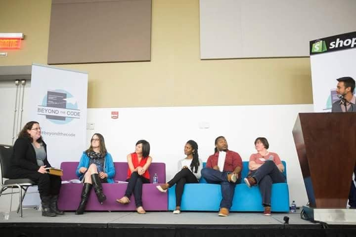 Beyond the code - Diversity in Tech Panel. 2015Writeup[diversity, inclusion, tech]Photo: courtesy of BeyondTheCode