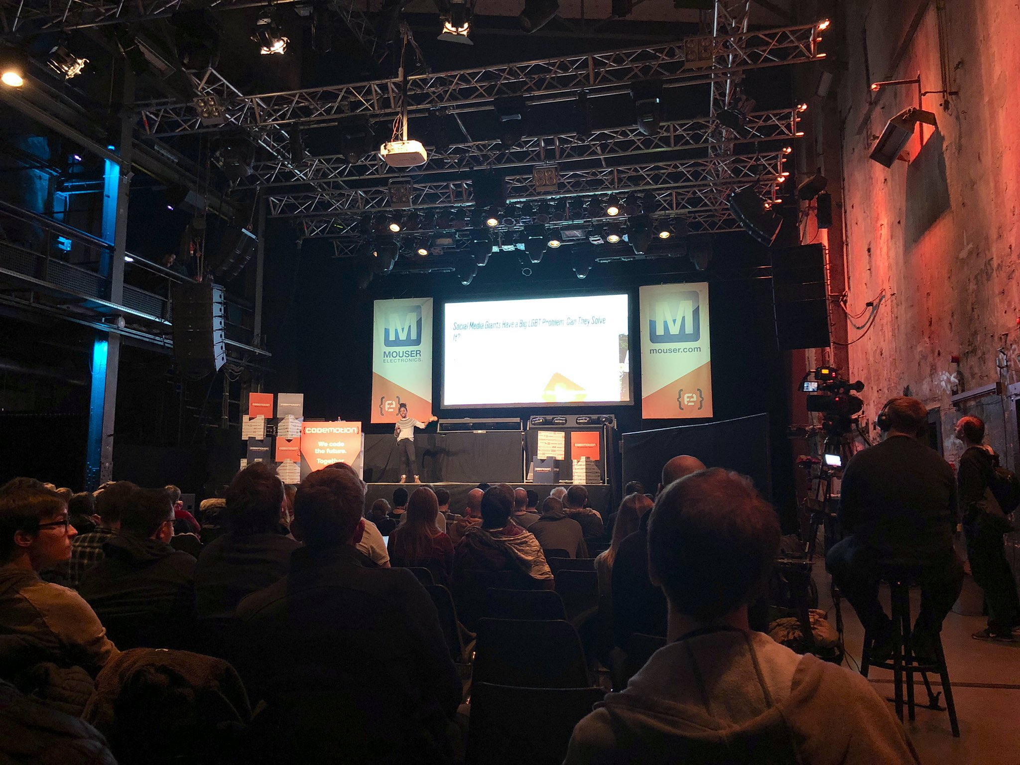 CODEMOTION BERLIN - Fantastic Data and Where to Find Them: The Importance of Knowing What (and Who) Is MissingBerlin, Germany. November 2018ConferenceSlides w/o Notes[ml, data, bias, tech]Photo: courtesy of CodeMotion