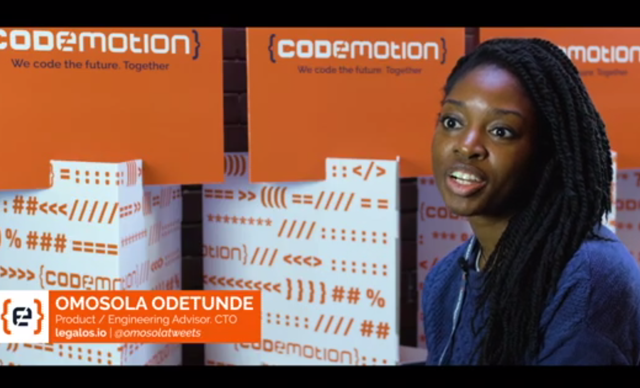 CODEMOTION BERLIN - Written up in CodeMotion's magazine discussing responsible AI/ML from a CTO perspective.Creating a culture of responsibility: interview with Omosola OdetundeMarch 2019 (recorded November 2018)