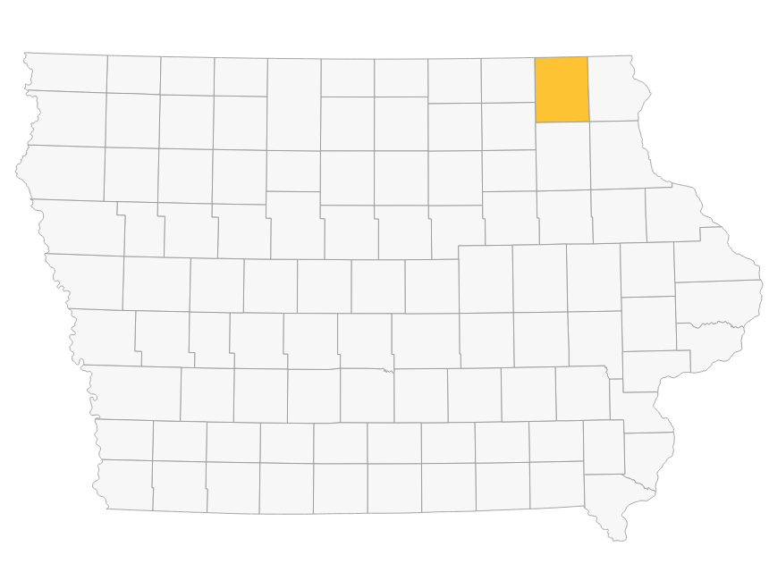 WINNESHIEK COUNTY