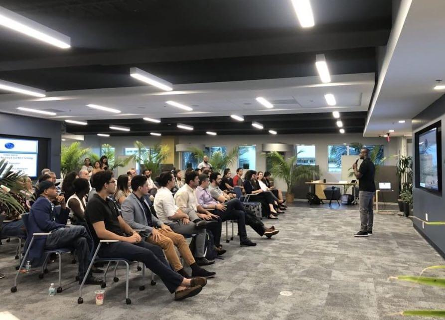 5 STARZ GAMING FOUNDER GAREEF GLASHEN SPEAKS AT STARTUP FIU PROOF OF CONCEPT INCUBATOR!
