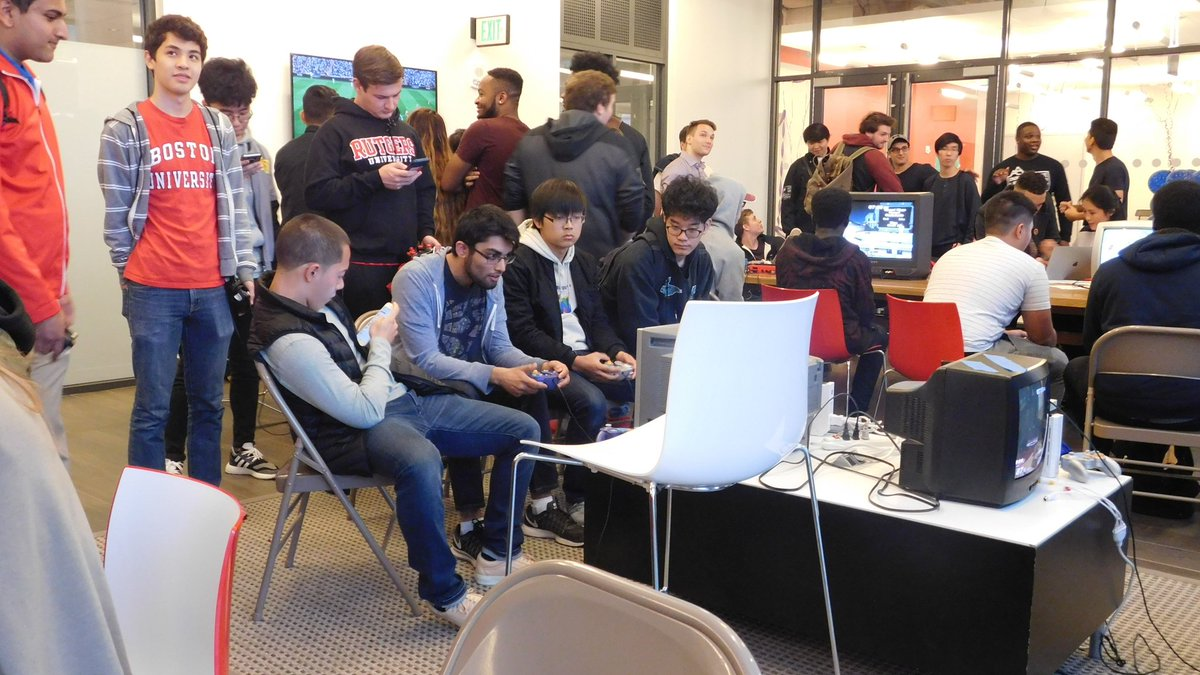 GAMERS FROM NEW YORK, BOSTON, NEW JERSEY, AND DMV PLAYING SUPER SMASH AND FIFA, COMPETING FOR THE GOLD MEDAL!