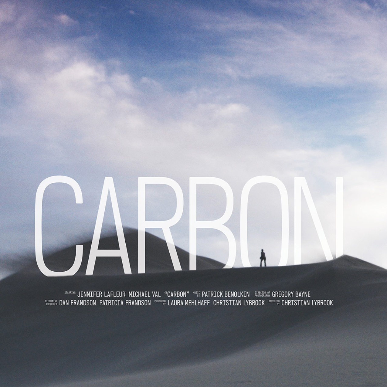 CARBON - A sci-fi western short film.A sheep rancher's carefully constructed life begins to unravel when she discovers strange happenings on her ranch.SELECT ACCOLADES2015 BEST SHORT SCREENPLAY | SUN VALLEY FILM FESTIVAL
