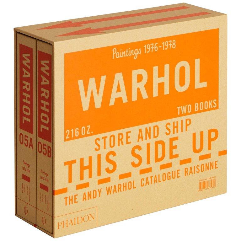 warhol phaidon books