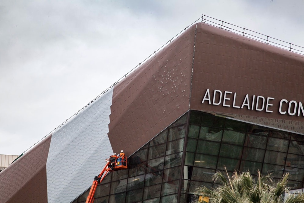 elZinc Adelaide Convention Centre Construction.jpg