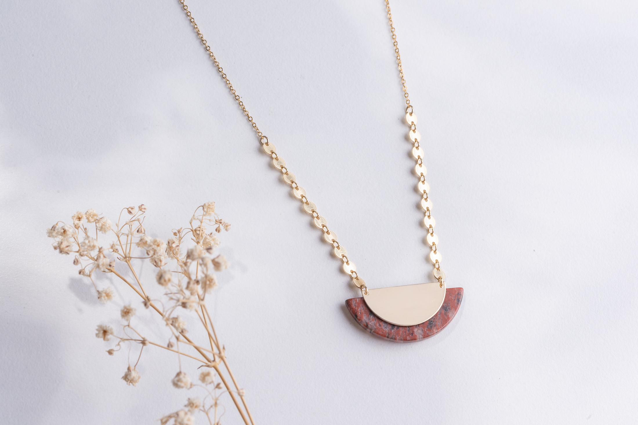Our ZOAJE piece :  Namibia Necklace