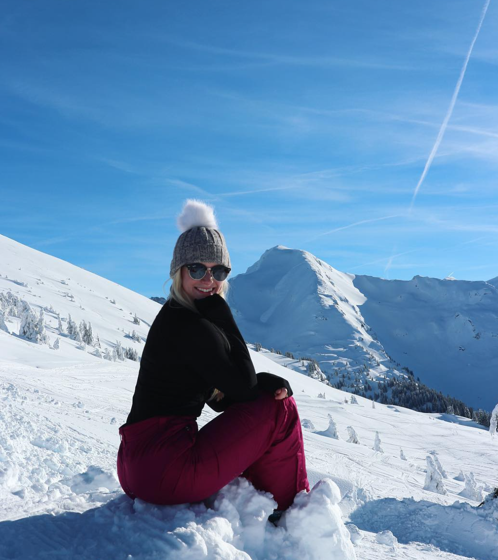 Skiing in Avoriaz  (highly recommend!)