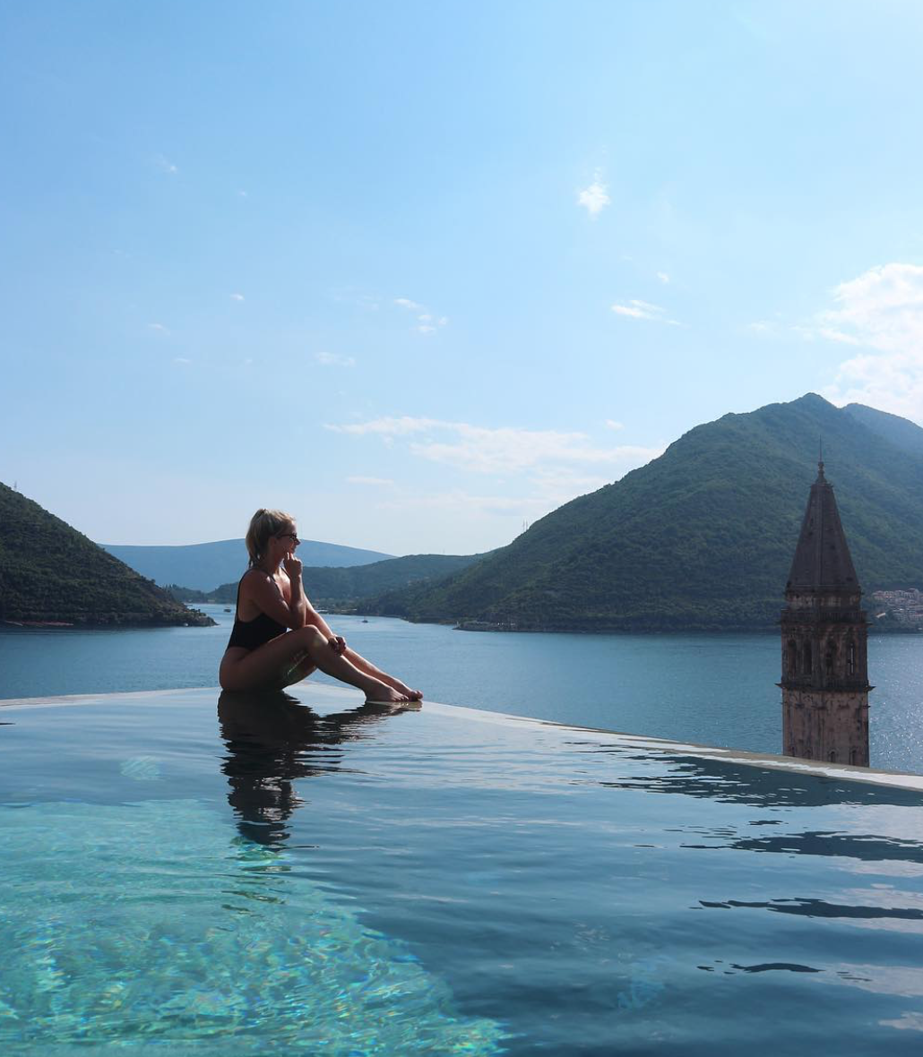 Feeling incredibly lucky -  Perast, Montenegro