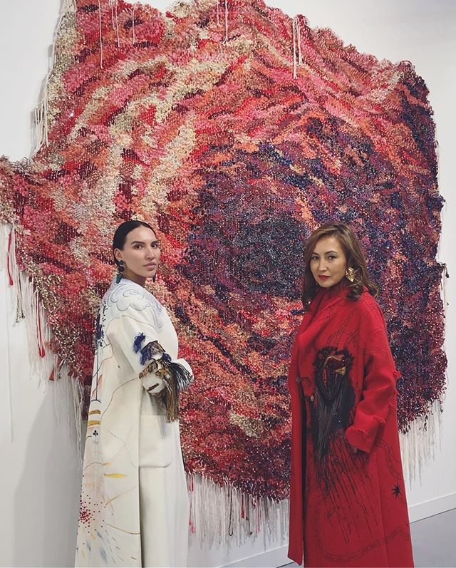 The most amazing time of the year! Exhibiting at Frieze today:) See you all there tomorrow! @friezeartfair @dinakemal @meyosh @kukjegallery @beaudanslart @manifestations #aiganagali #artcouture #frieze2019 #manifestations